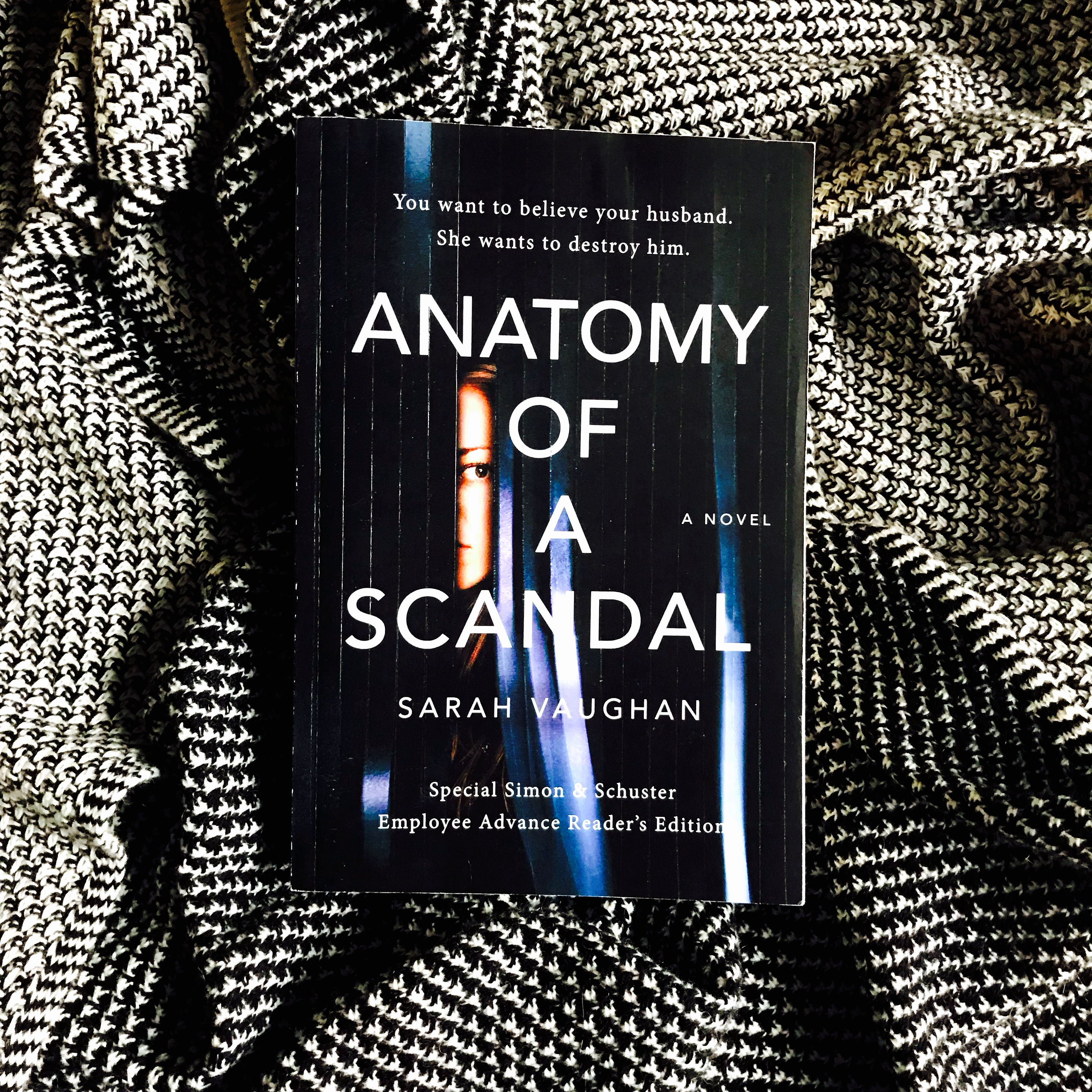 Review: ANATOMY OF A SCANDAL by Sarah Vaughan | She Reads With Cats